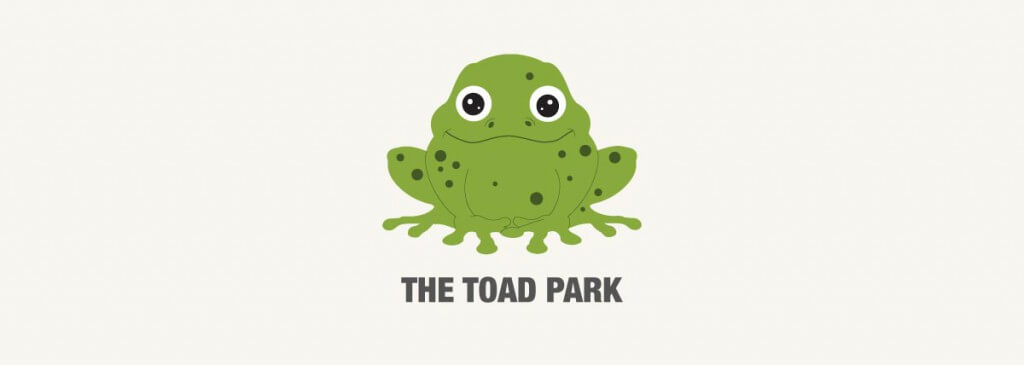 The Toad Park Logo with Text